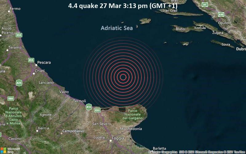4.4 Gempa 27 Maret 15:13 (GMT +1)