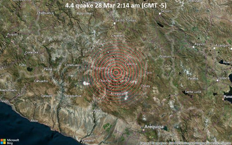 4.4 quake 28 Mar 2:14 am (GMT -5)