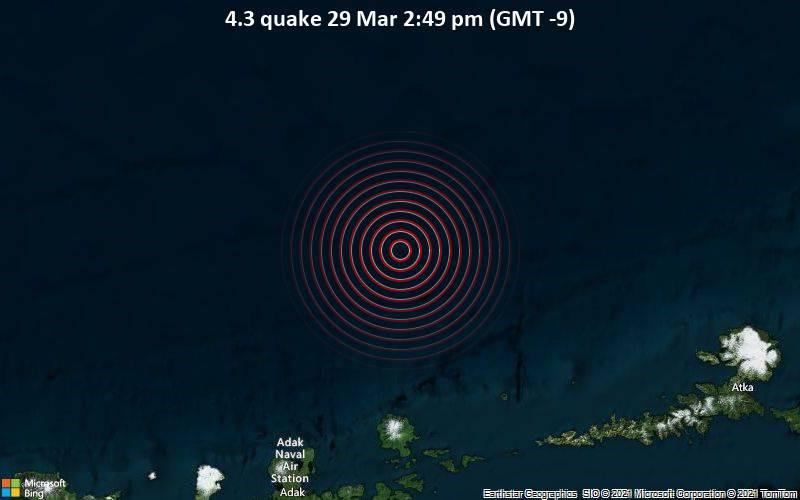 4.3 quake 29 Mar 2:49 pm (GMT -9)