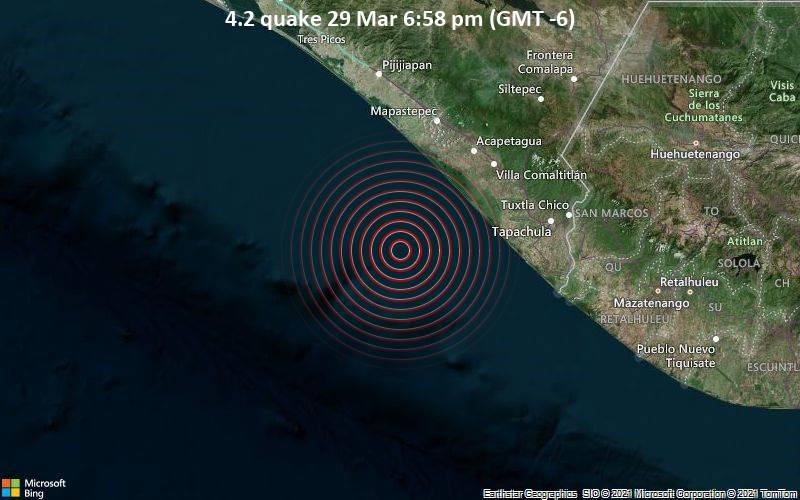 4.2 quake 29 Mar 6:58 pm (GMT -6)
