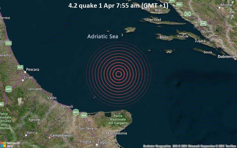 4.2 Gempa 1 April 7:55 AM (GMT +1)