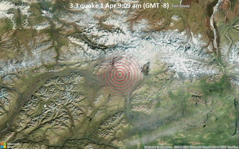 3.3 quake 1 Apr 9:09 am (GMT -8)