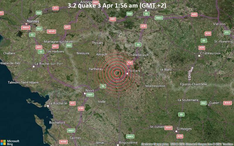 3.2 quake 3 Apr 1:56 am (GMT +2)