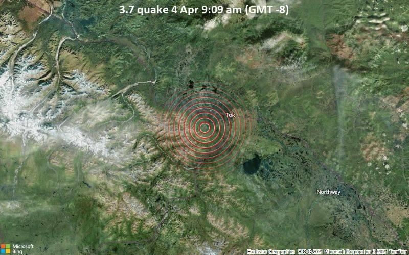 3.7 quake 4 Apr 9:09 am (GMT -8)