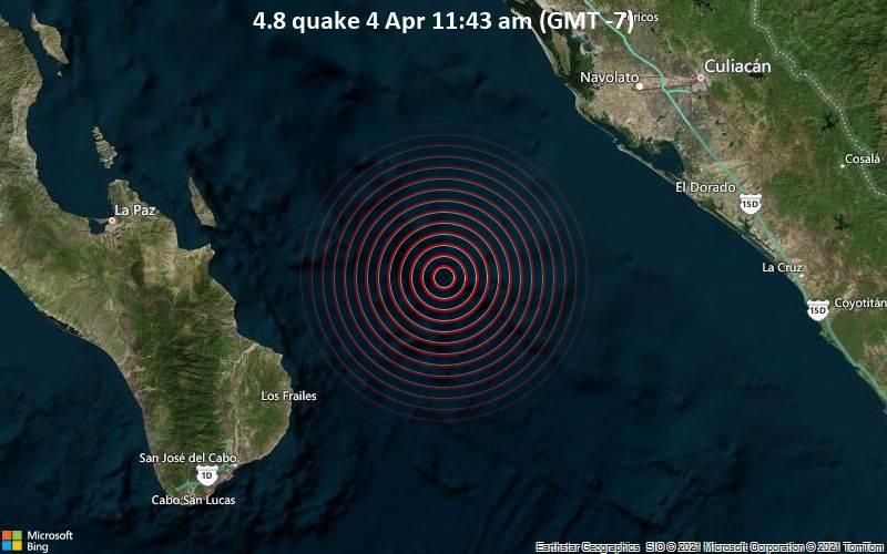 4.8 quake 4 Apr 11:43 am (GMT -7)