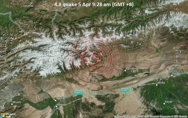 4.8 quake 5 Apr 9:28 am (GMT +8)
