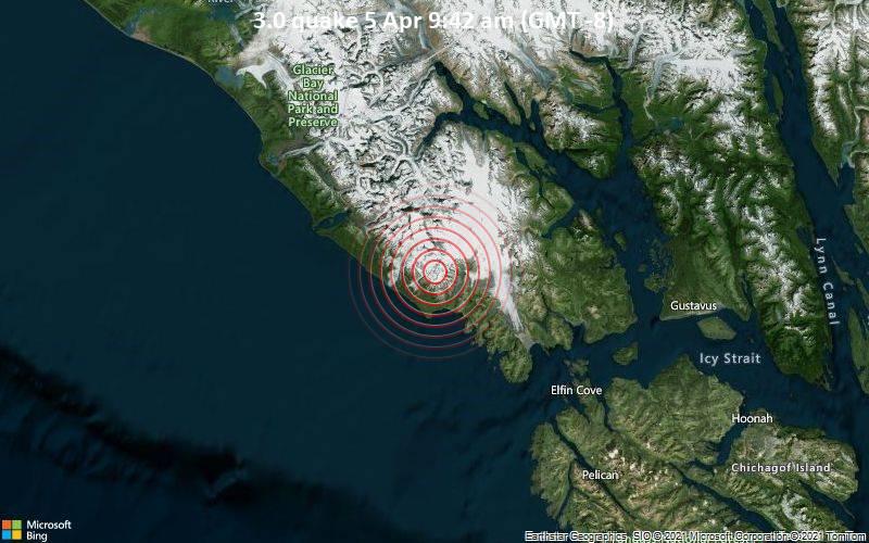 3.0 quake 5 Apr 9:42 am (GMT -8)