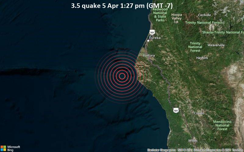 3.5 quake 5 Apr 1:27 pm (GMT -7)