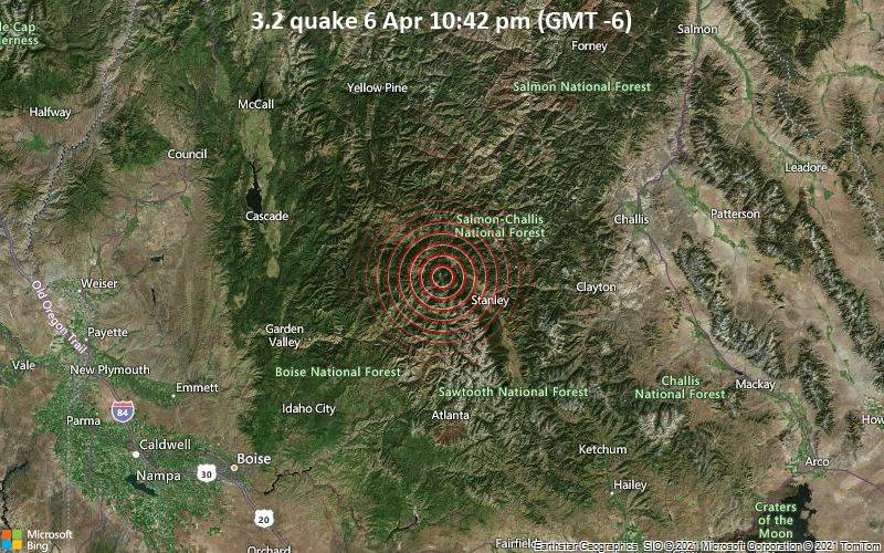 3.2 quake 6 Apr 10:42 pm (GMT -6)