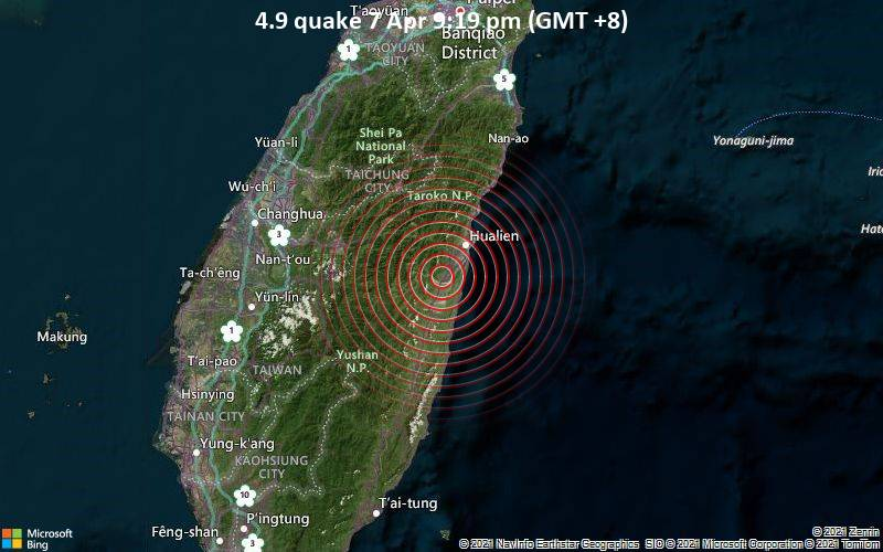 4.9 quake 7 Apr 9:19 pm (GMT +8)