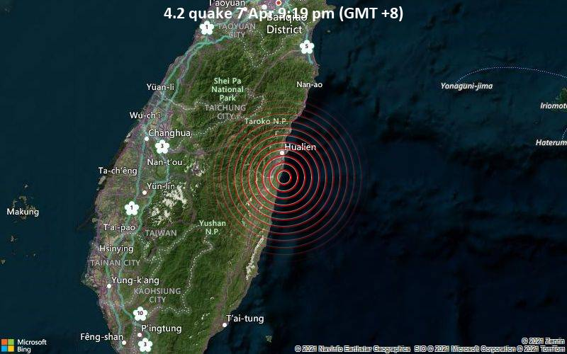 4.2 quake 7 Apr 9:19 pm (GMT +8)