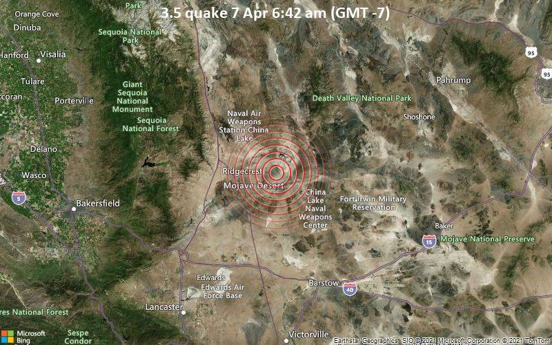 3.5 quake 7 Apr 6:42 am (GMT -7)