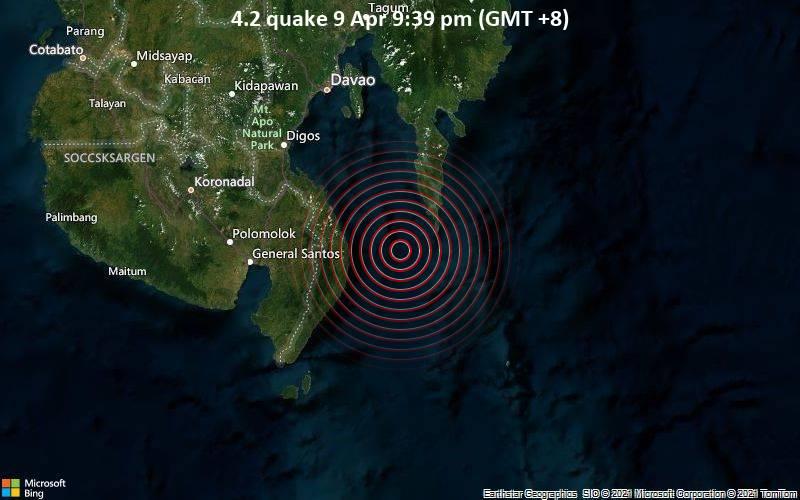 4.2 quake 9 Apr 9:39 pm (GMT +8)