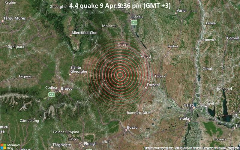 4.4 quake 9 Apr 9:36 pm (GMT +3)