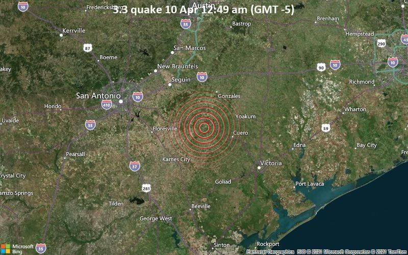 3.3 quake 10 Apr 12:49 am (GMT -5)