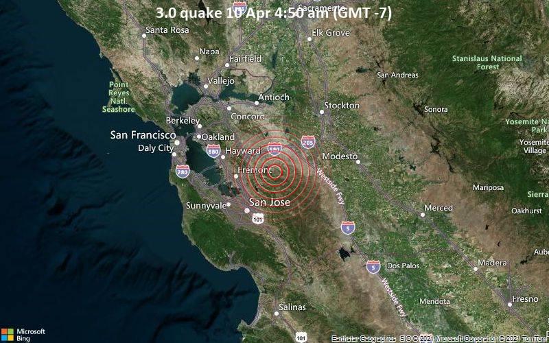 3.0 quake 10 Apr 4:50 am (GMT -7)