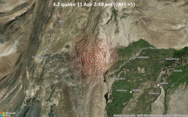 4.2 quake 11 Apr 2:49 am (GMT +5)