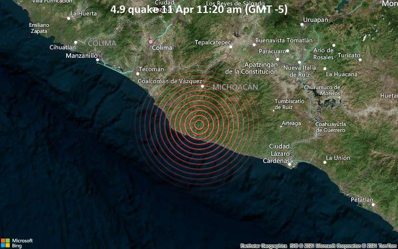 4.9 quake 11 Apr 11:20 am (GMT -5)