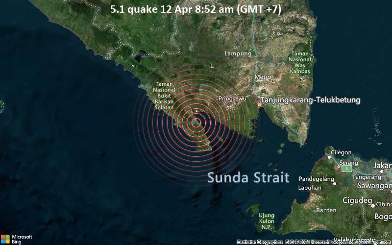 5.1 quake 12 Apr 8:52 am (GMT +7)