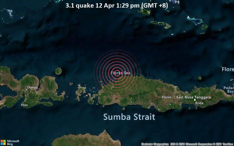 3.1 quake 12 Apr 1:29 pm (GMT +8)