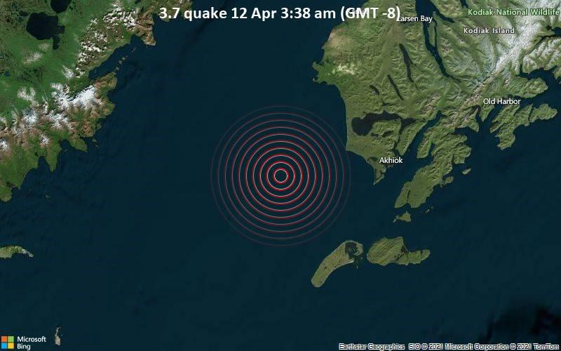 3.7 quake 12 Apr 3:38 am (GMT -8)