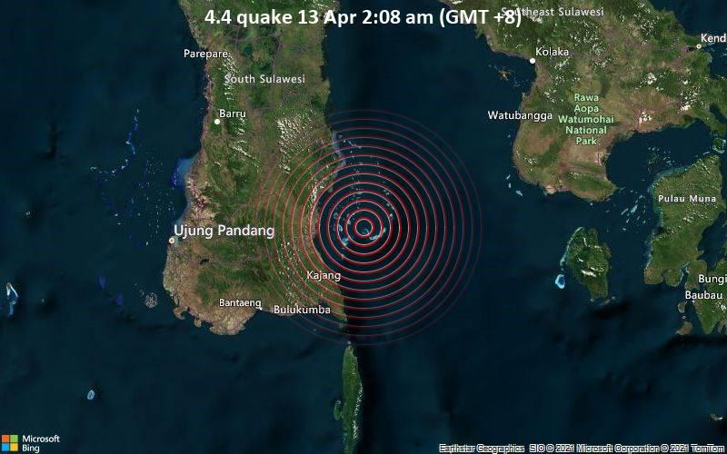 4.4 quake 13 Apr 2:08 am (GMT +8)