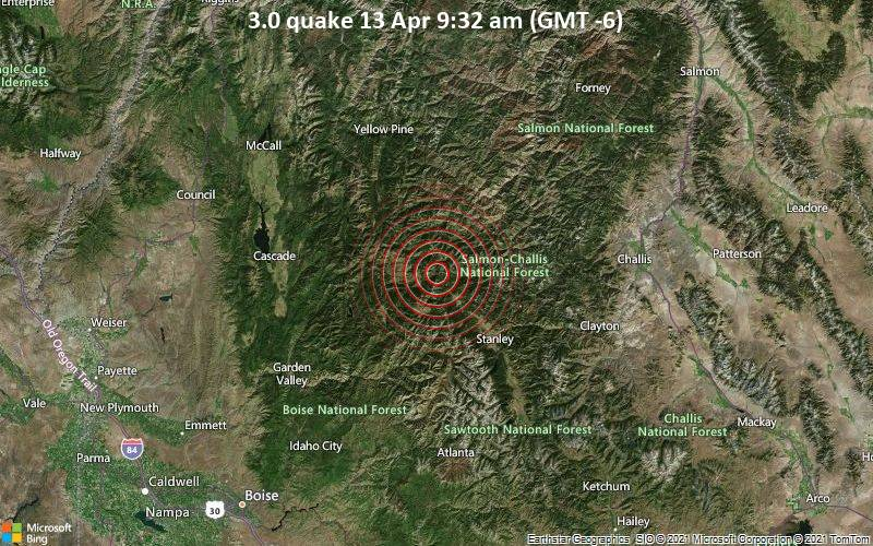 3.0 quake 13 Apr 9:32 am (GMT -6)