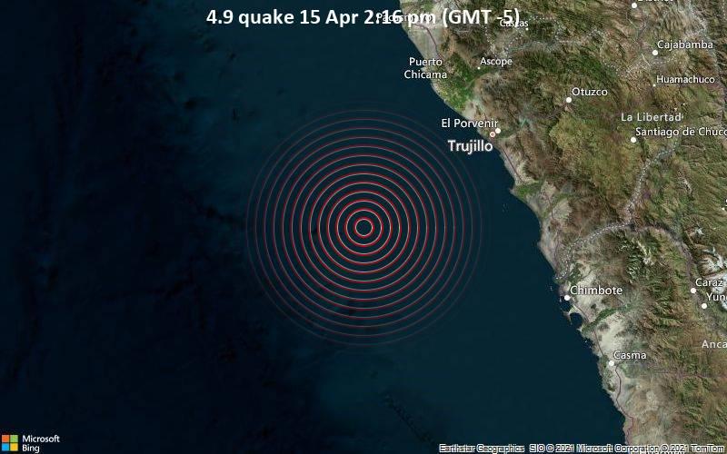 4.9 quake 15 Apr 2:16 pm (GMT -5)