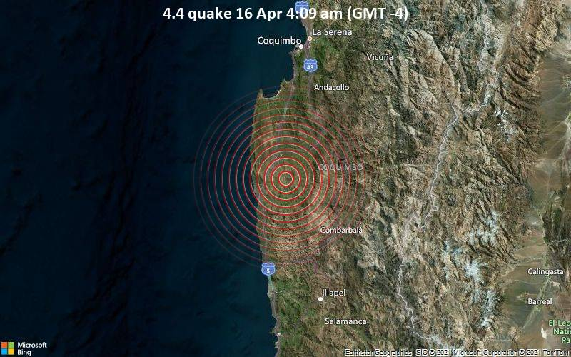 4.4 quake 16 Apr 4:09 am (GMT -4)