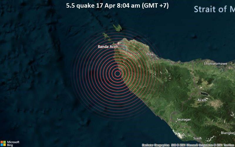 5.5 quake 17 Apr 8:04 am (GMT +7)