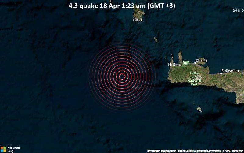 4.3 quake 18 Apr 1:23 am (GMT +3)