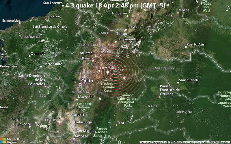 4.3 quake 18 Apr 2:48 pm (GMT -5)