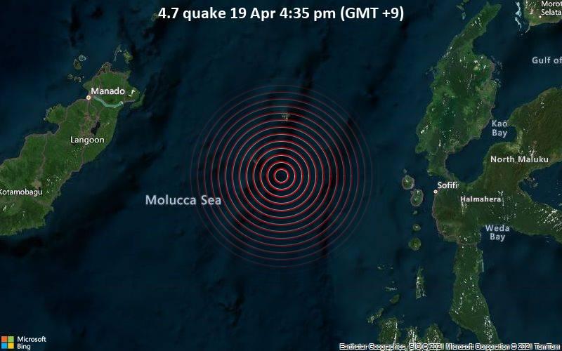 4.7 quake 19 Apr 4:35 pm (GMT +9)