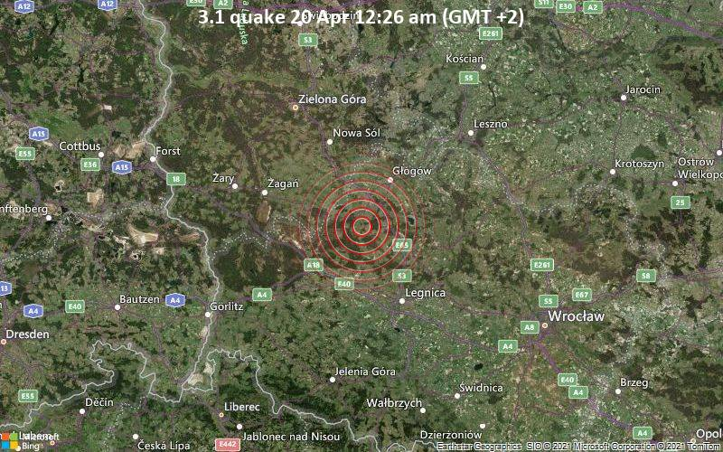 3.1 quake 20 Apr 12:26 am (GMT +2)