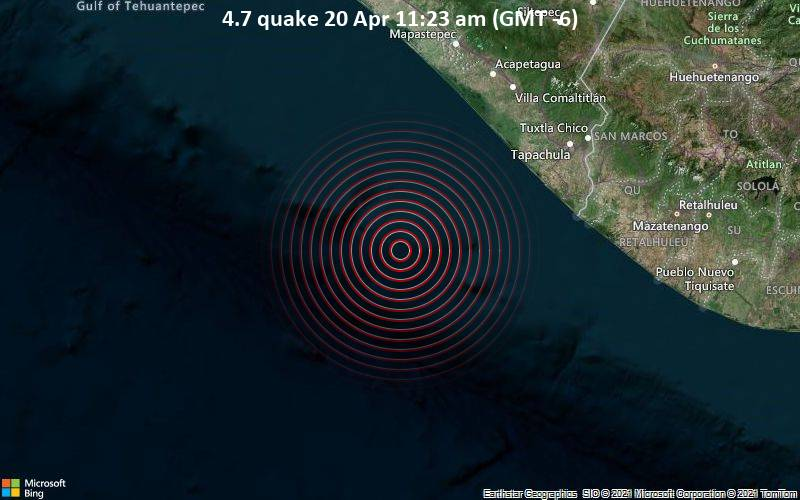 4.7 Gempa 20 Apr 11:23 (GMT -6)
