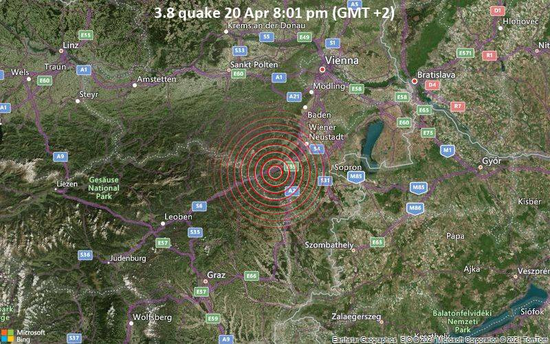3.8 Gempa 20 Apr 8:01 PM (GMT +2)