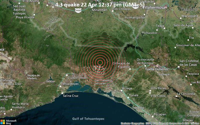 4.3 quake 22 Apr 12:37 pm (GMT -5)
