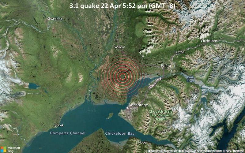 3.1 quake 22 Apr 5:52 pm (GMT -8)