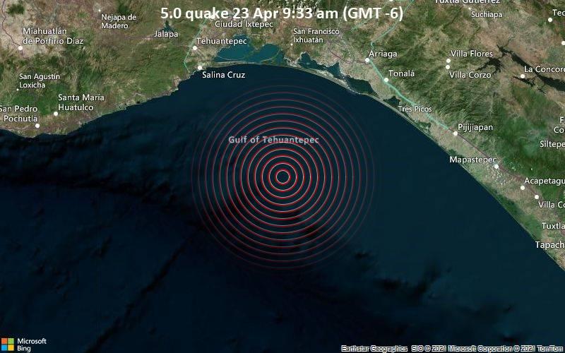 5.0 quake 23 Apr 9:33 am (GMT -6)