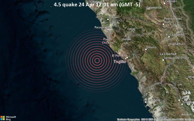 4.5 quake 24 Apr 12:01 am (GMT -5)
