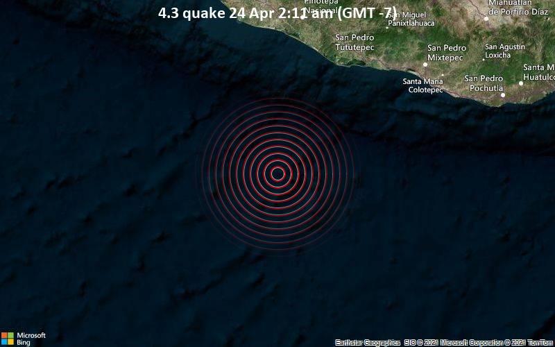 4.3 quake 24 Apr 2:11 am (GMT -7)