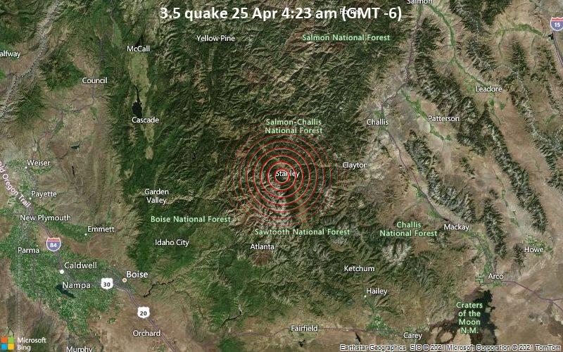 3.5 quake 25 Apr 4:23 am (GMT -6)