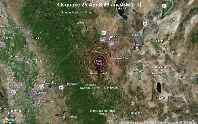 3.8 quake 25 Apr 8:33 am (GMT -7)