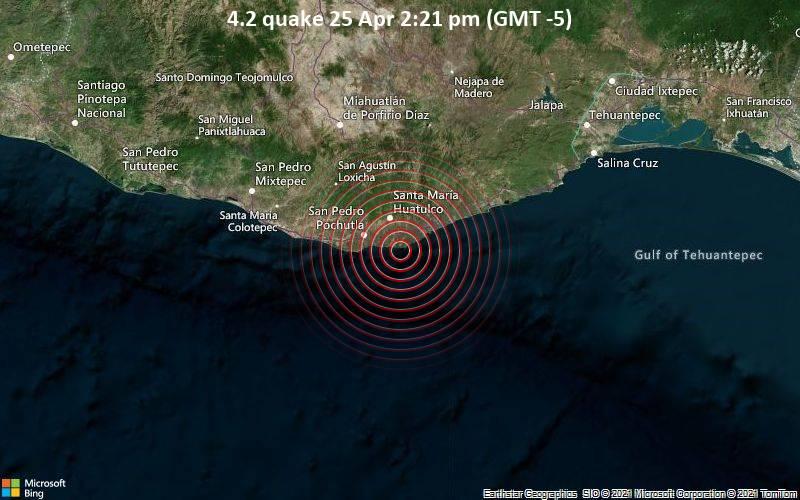 4.2 quake 25 Apr 2:21 pm (GMT -5)