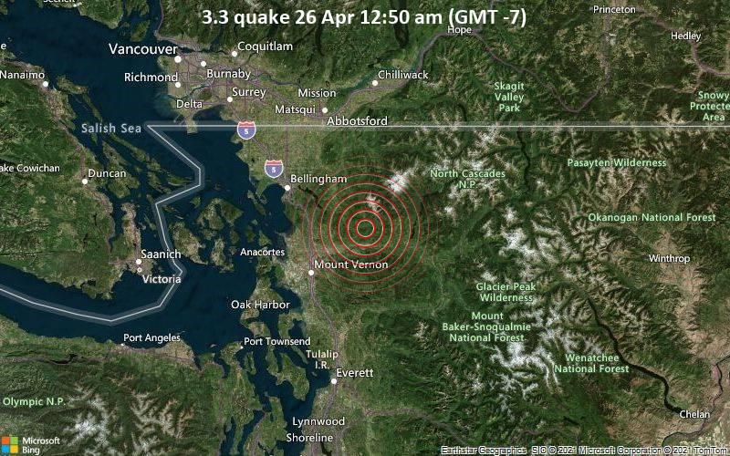 3.3 quake 26 Apr 12:50 am (GMT -7)