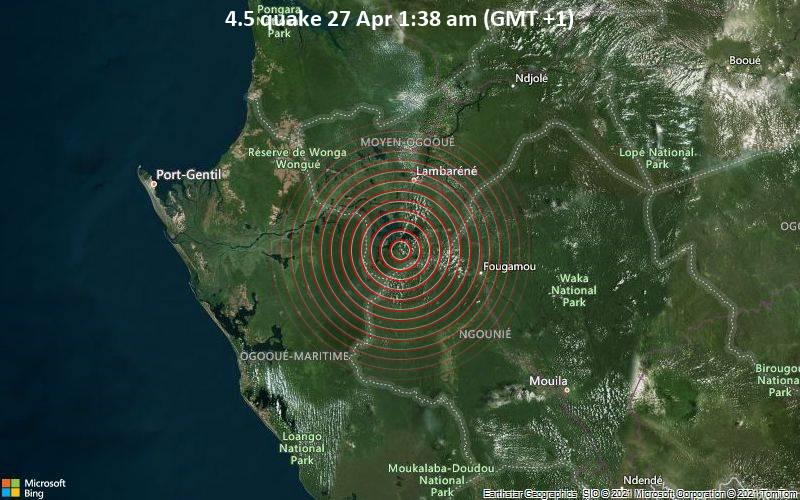 4.5 Gempa 27 Apr 1:38 AM (GMT +1)