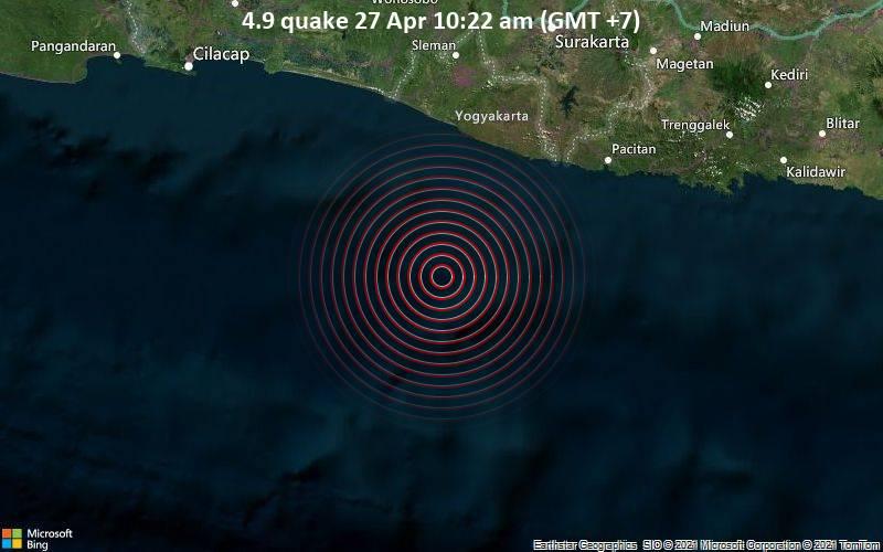 4.9 Gempa 27 Apr 10:22 AM (GMT +7)