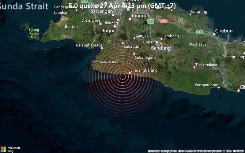 5.0 Gempa 27 Apr 16:23 (GMT +7)