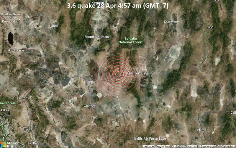 3.6 Gempa 28 Apr 4:57 AM (GMT -7)