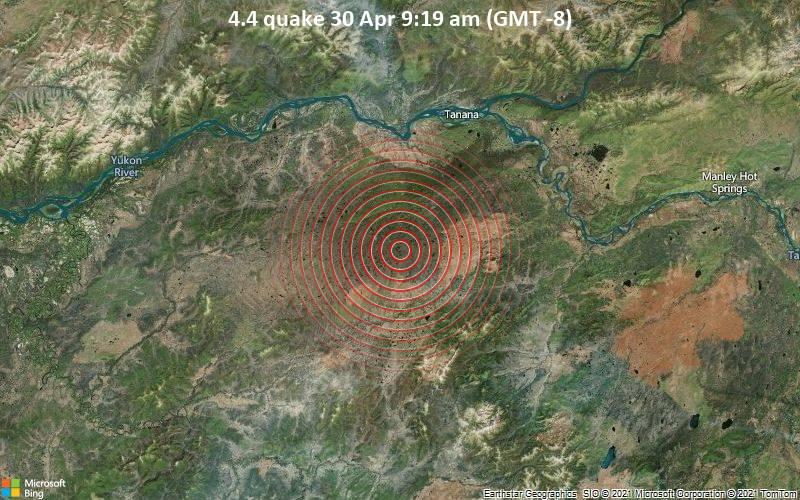 4.4 quake 30 Apr 9:19 am (GMT -8)